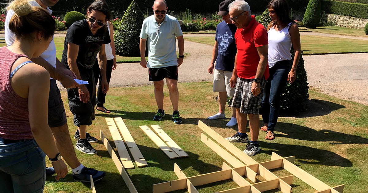challenge olympiades team building