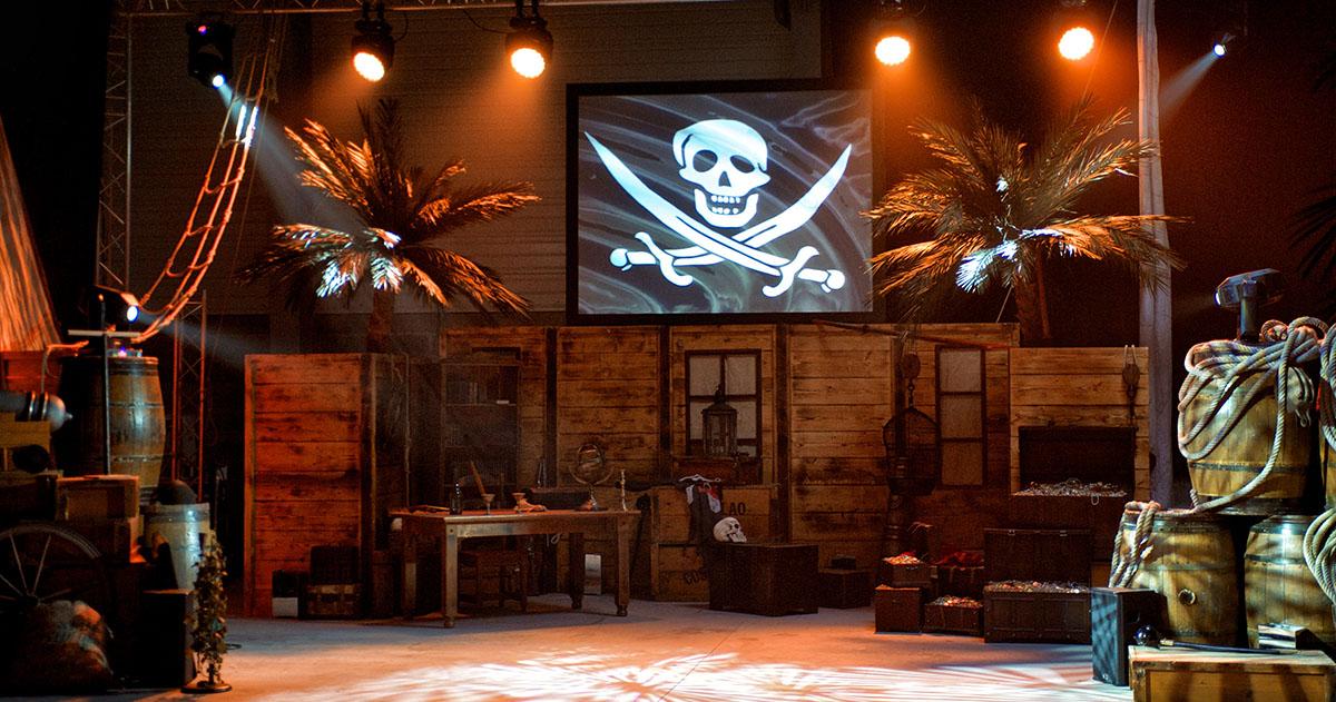soirée d'entreprise corsaire pirate à bordeaux