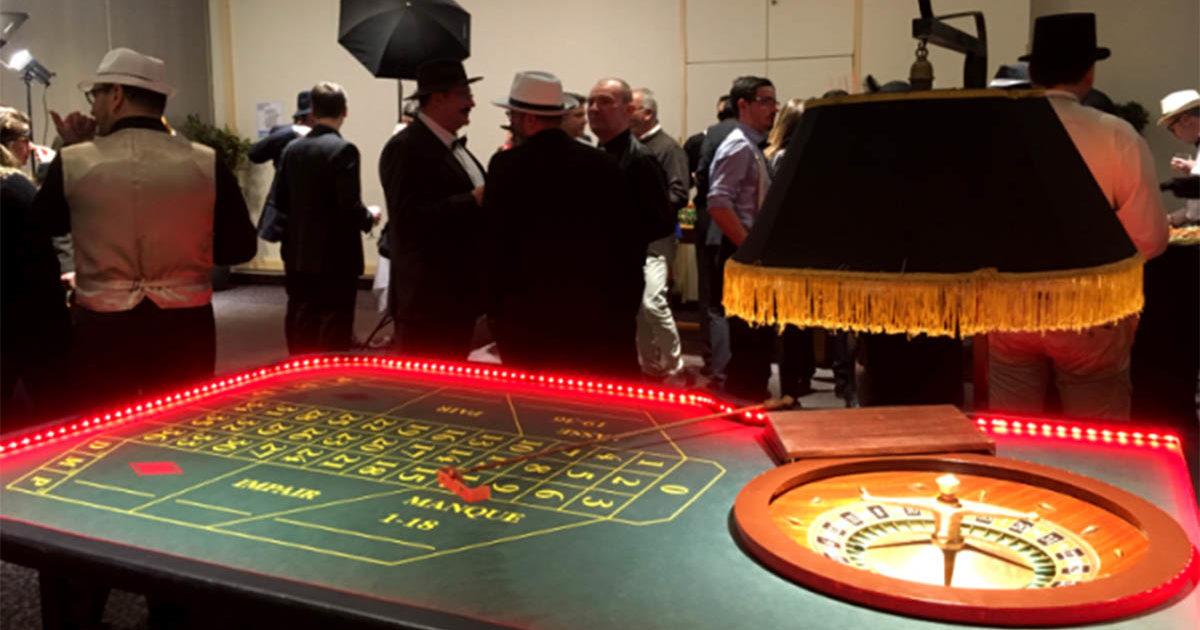 animation casino lors d'une soirée d'entreprise à Rennes